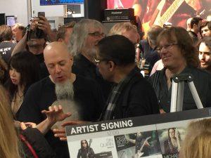 Keith Emerson, Jordon Rudess, and Herbie Hancock